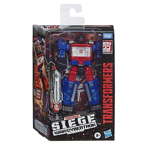 Transformers War For Cybertron Siege WFC-S49 Deluxe Crosshairs Packaging Box