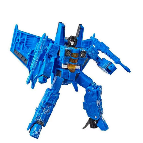 Transformers War For Cybertron: Siege WFC-S53 Ion Storm Blue Rainmaker Robot Toy
