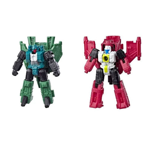 Transformers Siege WFC-S59 Ground Shaker & Overair - Micromaster Autobots