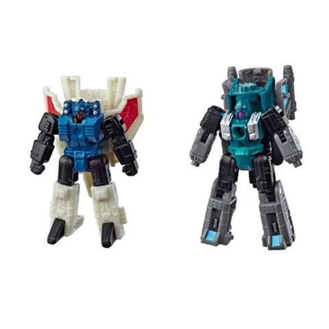 Transformers Siege WFC-S61 Nightflight & Slyhopper Micromaster Decepticons Robot Toy