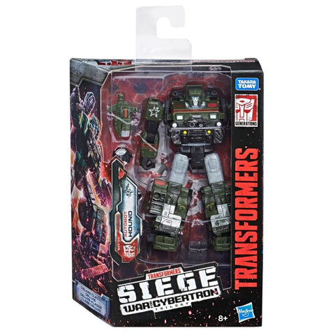 Transformers War Cybertron Siege WFC-S9 Deluxe Autobot Hound Box Package