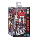 Transformers War for Cybertron Siege WFC-7 Deluxe Sideswipe Box Package