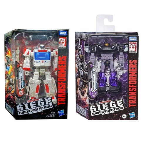 Transformers Siege Deluxe Ratchet & Barricade - 2 Figure Bundle