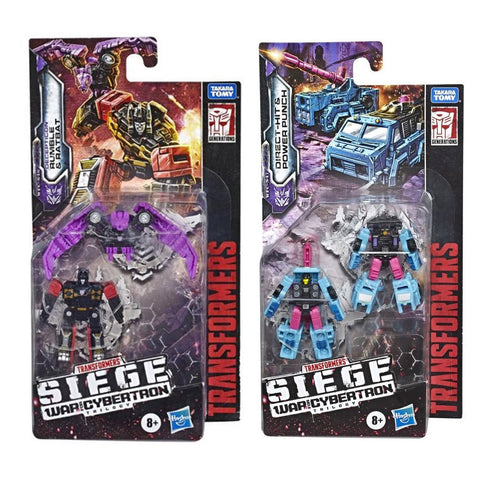 Transformers Siege WFC-S46 Rumble Ratbat Direct-hit Power Punch - Micromaster Bundle