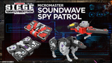 Transformers War For Cybertron Siege WFC-S18 Ravage Laserbeak Micromaster Spy Patrol promo