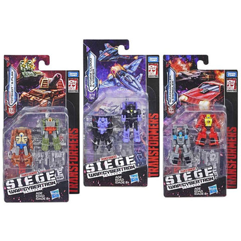 Transformers War For Cybertron Siege Micromaster Wave 1 bundle of 3