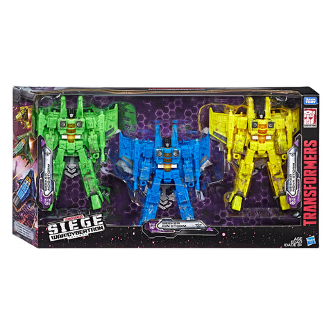 Transformers War for Cybertron Siege Rainmaker Giftset Box Package