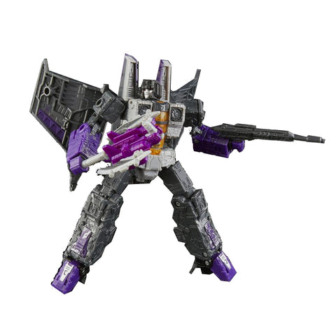 Transformers War for Cybertron Siege WFC-S Voyager Skywarp Robot Toy