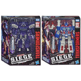 Transformers War Cybertron Wave 1 Siege WFC-S14 Leader Decepticon Shockwave WFC-S13 Ultra Magnus Bundle Box Package