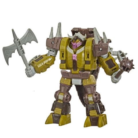 Transformers War for Cybertron Deluxe Bailiff Quintesson Pit of Judgement robot toy