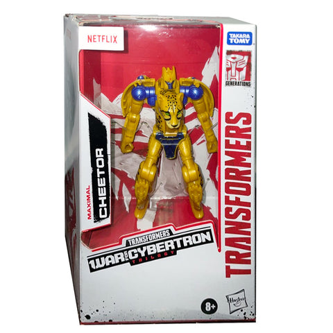 Transformers War for Cybertron Trilogy Netflix Deluxe Cheetor box package front photo
