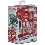 Transformers War for Cybertron Trilogy Netflix Walmart Deluxe Elita-1 Box Package Angle
