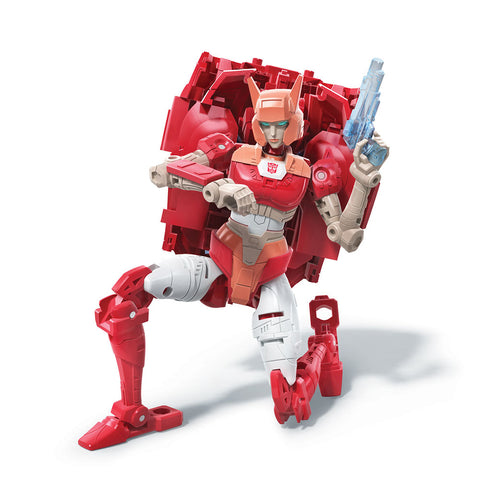 Transformers War for Cybertron Trilogy Netflix Walmart Deluxe Elita-1 Robot Toy Render