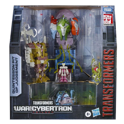 Transformers War for Cybertron Trilogy Quintesson Pit of Judgement Playset box package front