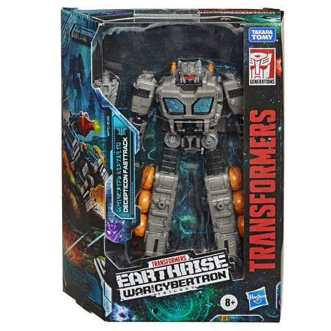 Transformers War for Cybertron Earthrise WFC-E35 Deluxe Weaponizer Fasttrack box package front