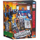 Transformers War for Cybertron Kingdom WFC-K20 Leader Ultra Magnus Box package front angle