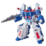 Transformers War for Cybertron Kingdom WFC-K20 Leader Ultra Magnus robot toy combined