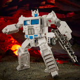 Transformers War for Cybertron Kingdom WFC-K20 Leader Ultra Magnus white inner robot toy photo