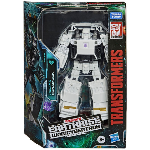 Transformers war for cybertron wfc-E37 deluxe runamuck box package front