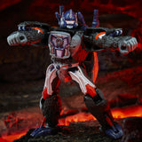 Transformers War for Cybertron WFC-K8 Voyager Optimus Primal robot toy front photo weapons