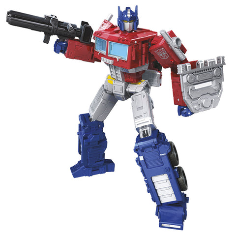 Transformers War for Cybertron Earthrise WFC-E11 Leader Optimus Prime Robot Render