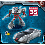 Transformers 35th Anniversary Siege Deluxe Bluestreak Packaging back side