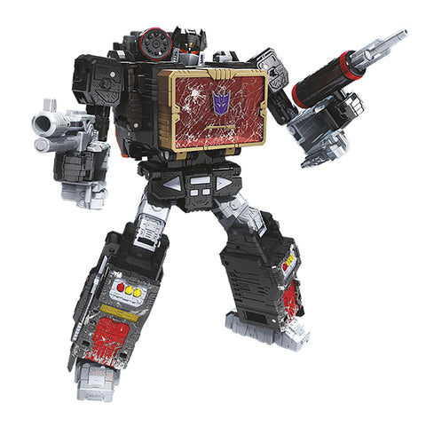 Transformers War for Cybertron WFC-S55 Soundblaster Robot Render