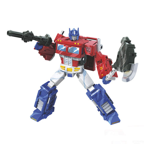 Transformers WFC-S65 Classic Animation Optimus Prime Robot Render
