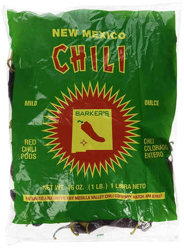 Dried Red Chile Pods