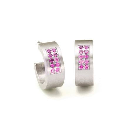 039.08P02SP.00 TeNo Stainless Steel Earrings