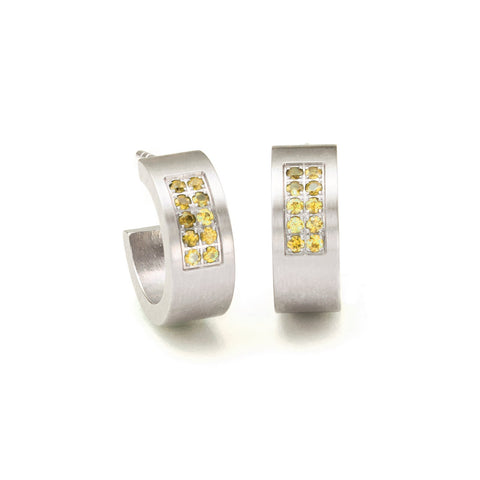 039.08P02SY.00 TeNo Stainless Steel Earrings