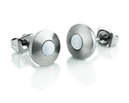 0507-05 Boccia Titanium Earrings