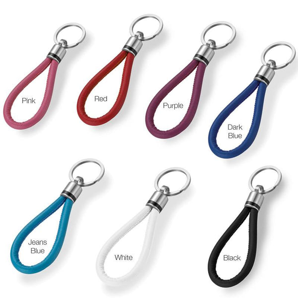 076.1000 TeNo Leather Color Key Chain