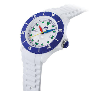 40Nine Extra-Large 50mm FUN Watch in White
