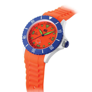 40Nine Extra-Large 50mm Orange Watch