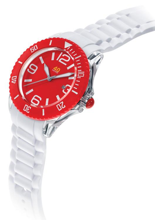 40Nine Large 45mm Red Watch