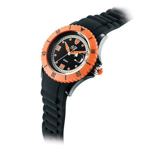 40Nine Medium 40mm Black & Orange Watch