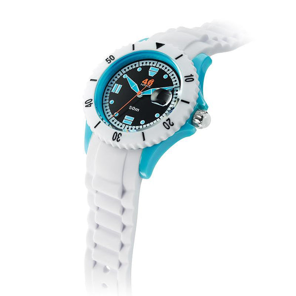 40Nine Medium 40mm White Watch