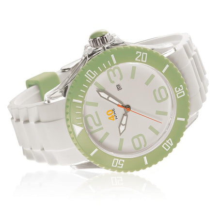 40Nine Extra Large 50mm Apple Green Watch