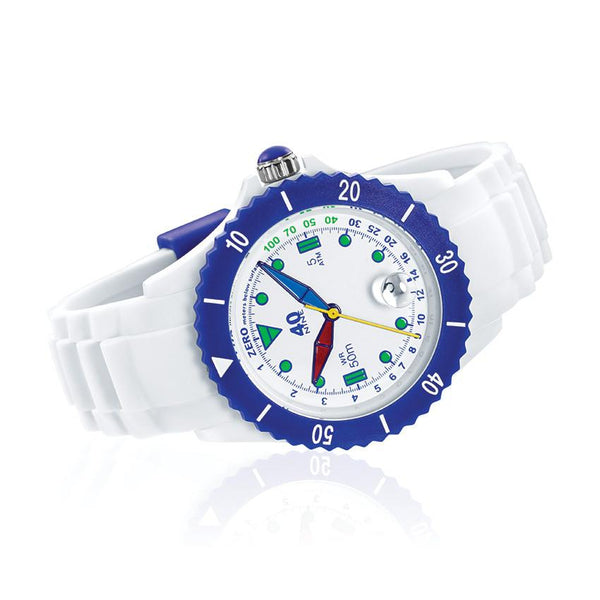 40Nine Medium 40mm FUN White Watch
