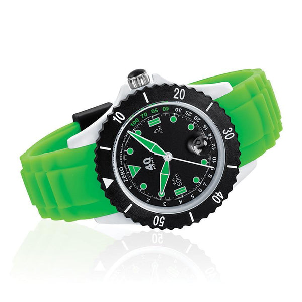 40Nine Medium 40mm Green & Black Watch
