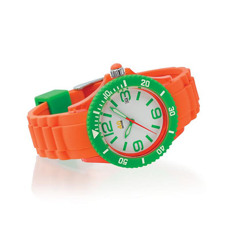 40Nine 40mm Medium Orange & Green Watch