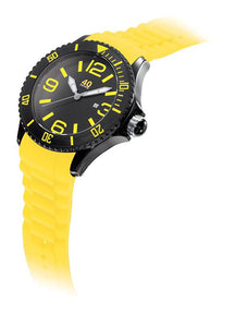 40Nine Extra Large 50mm Yellow & Black Watch