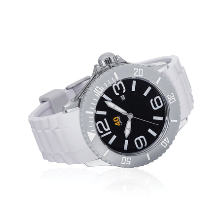40Nine Large 45mm White Watch