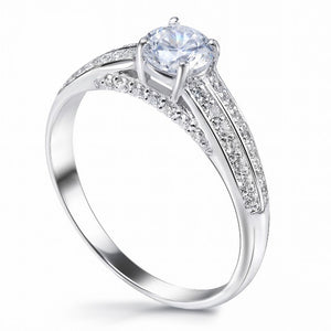 MD-SLR101 Silver Engagement Ring