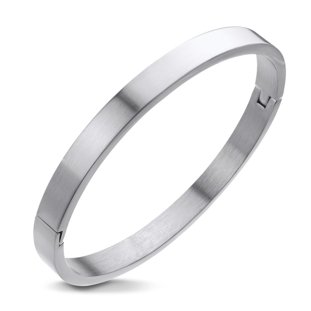 MNC-BG193-A Stainless Steel Bangle Bracelet