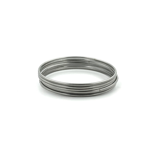 MNC-BG252-A Stainless Steel Set of Bangle Bracelets