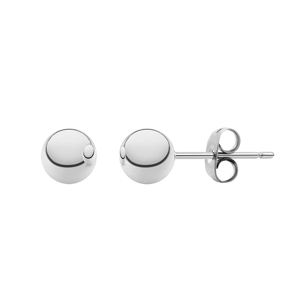 MNC-ER340-A-7mm Stainless Steel Ball Stud Earrings