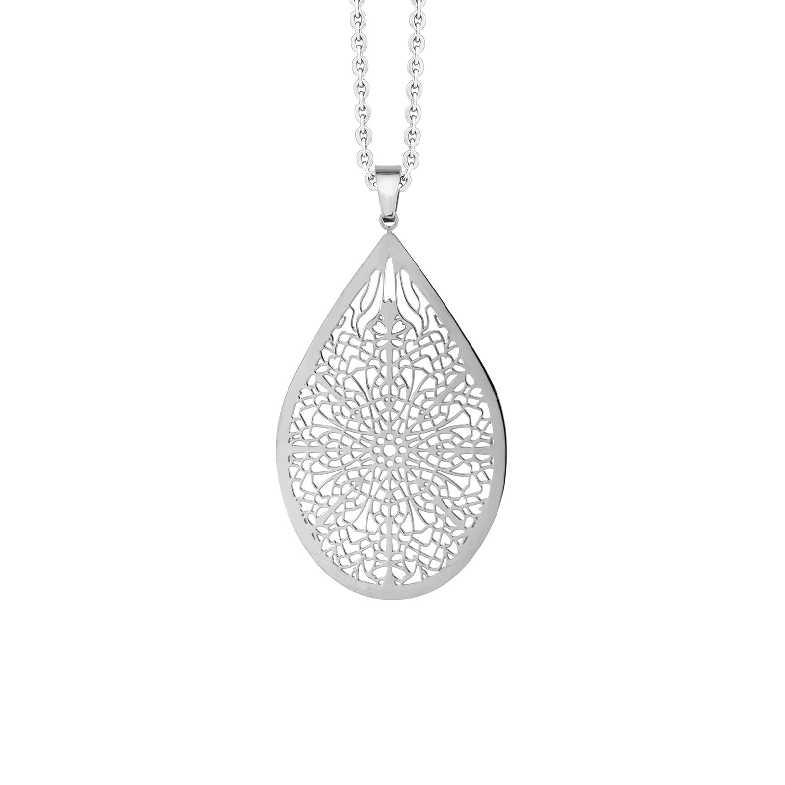 MNC-P109-A Stainless Steel Pendant Necklace