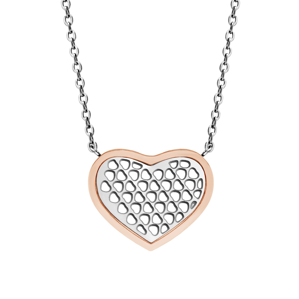 MNC-P501-C Stainless Steel Heart Necklace